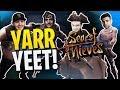 Sea Of Thieves - YARR YEET! - ft. Ninja, TimTheTatMan, & SypherPK - Part 1! | DrLupo
