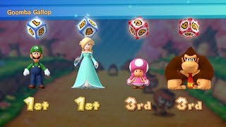 Mario Party 10 - Mario Party Mode - Mushroom Park #122 (2 Player - Master Difficulty)