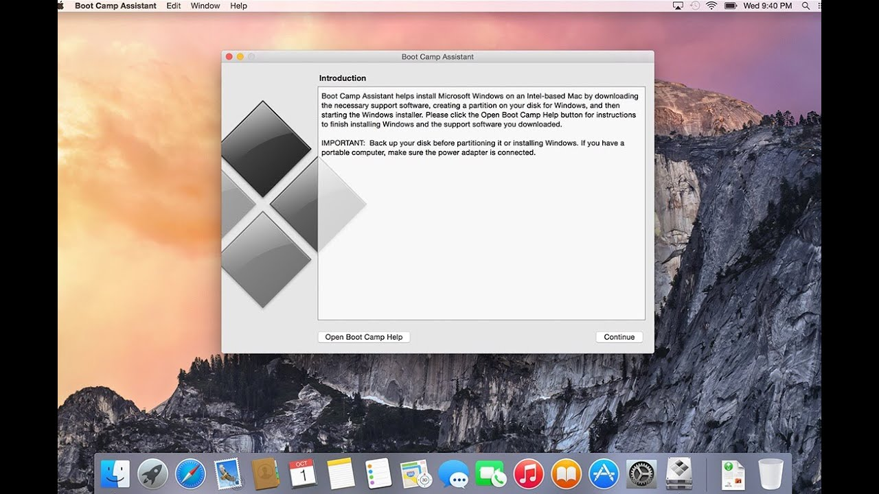 OSX Yosemite Bootcamp and Windows Common Problems