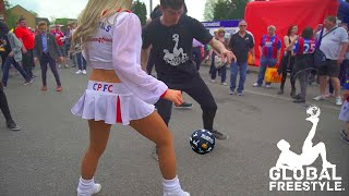 GLOBAL FREESTYLE vs CRYSTAL PALACE // FAN PANNA Ep.3 // feat Nasser El Jackson