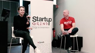 Lea Miggiano (Carvolution) at Startup Grind Zurich, w/ David Butler