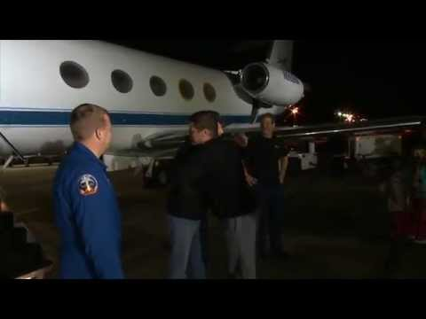 Expedition 41 Flight Engineer Reid Wiseman Returns Home Nov. 11, 2014