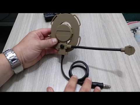 Airsoft: Headset Modelo Bowman Elite II para operador canhoto