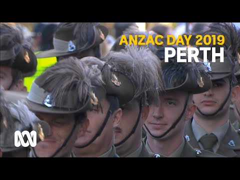 Anzac Day 2019 - Perth March And Service