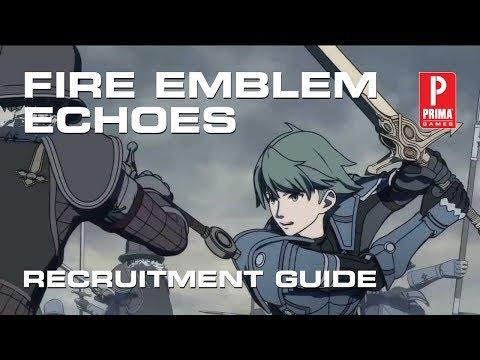 Fire Emblem Echoes Shadows of Valentia Recruitment Guide