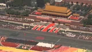 Военный парад в Китае. Женщины. Класс!  Military Parade Chinese Female Sold