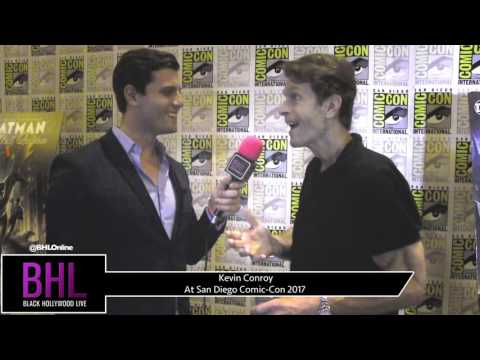 Kevin Conroy (Batman and Harley Quinn) at San Diego Comic-Con 2017