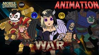 MOBILE LEGENDS ANIMATION - THE WAR (UNCUT)