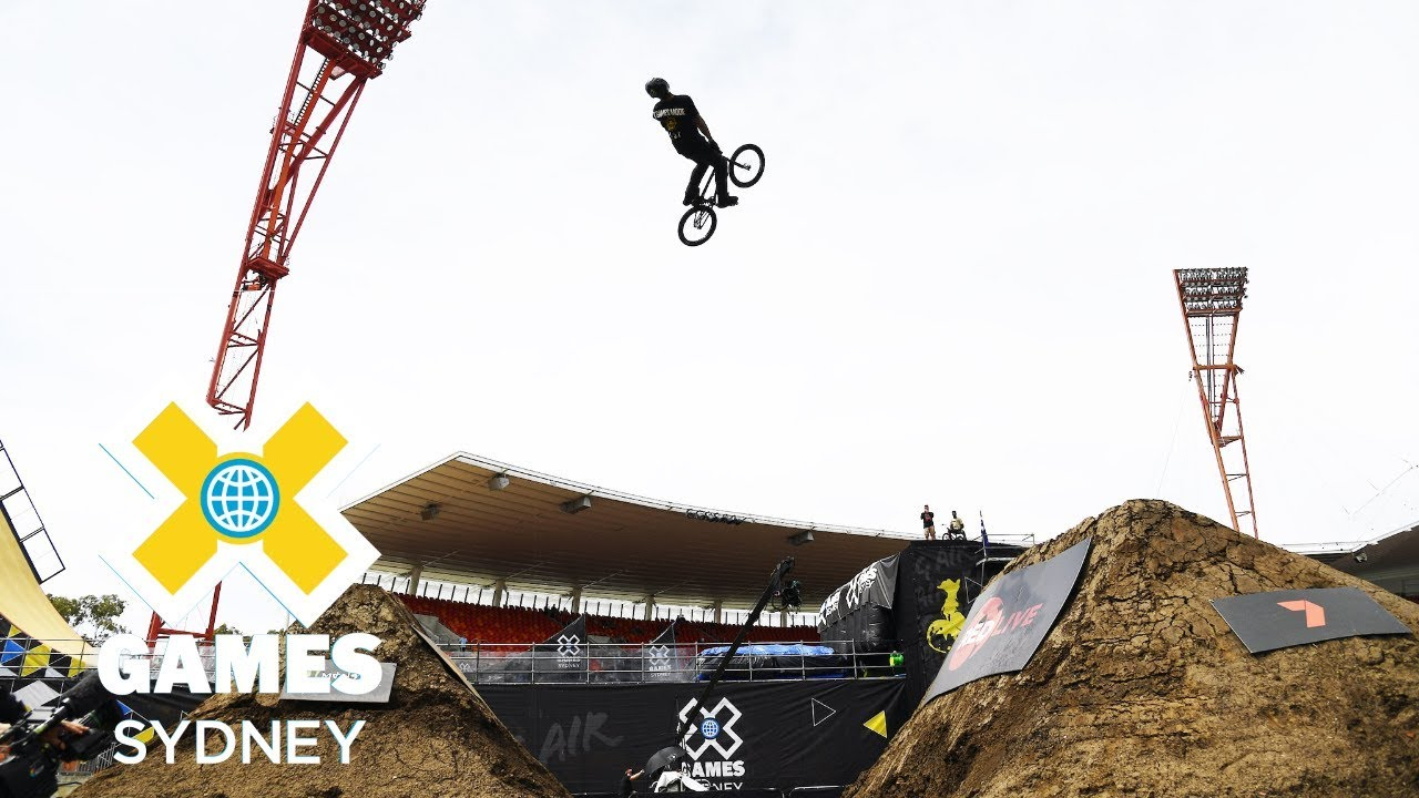 Kyle Baldock wins BMX Dirt silver | X Games Sydney 2018