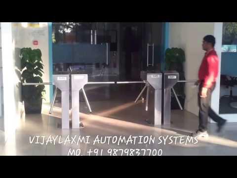 TRIOPOD - TURNSTILE - Vijaylaxmi Automation Systems. - Mob.: 09879837700
