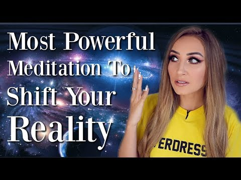 Meditation To COMPLETELY Shift Your Reality (Manifest ANYTHING)