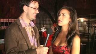 Dania Ramirez Actress on the Red Carpet at Latin Awards