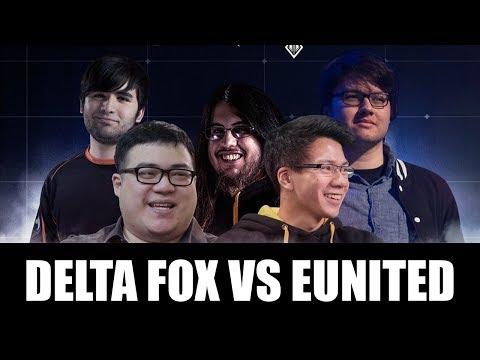 SCARRA: DELTA FOX (MEME STREAM DREAM TEAM) VS EUNITED NACS MATCH WEEK 1 HIGHLIGHTS