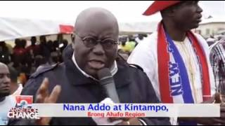 Akufo-Addo - Video: Tour of Kintampo North constituency
