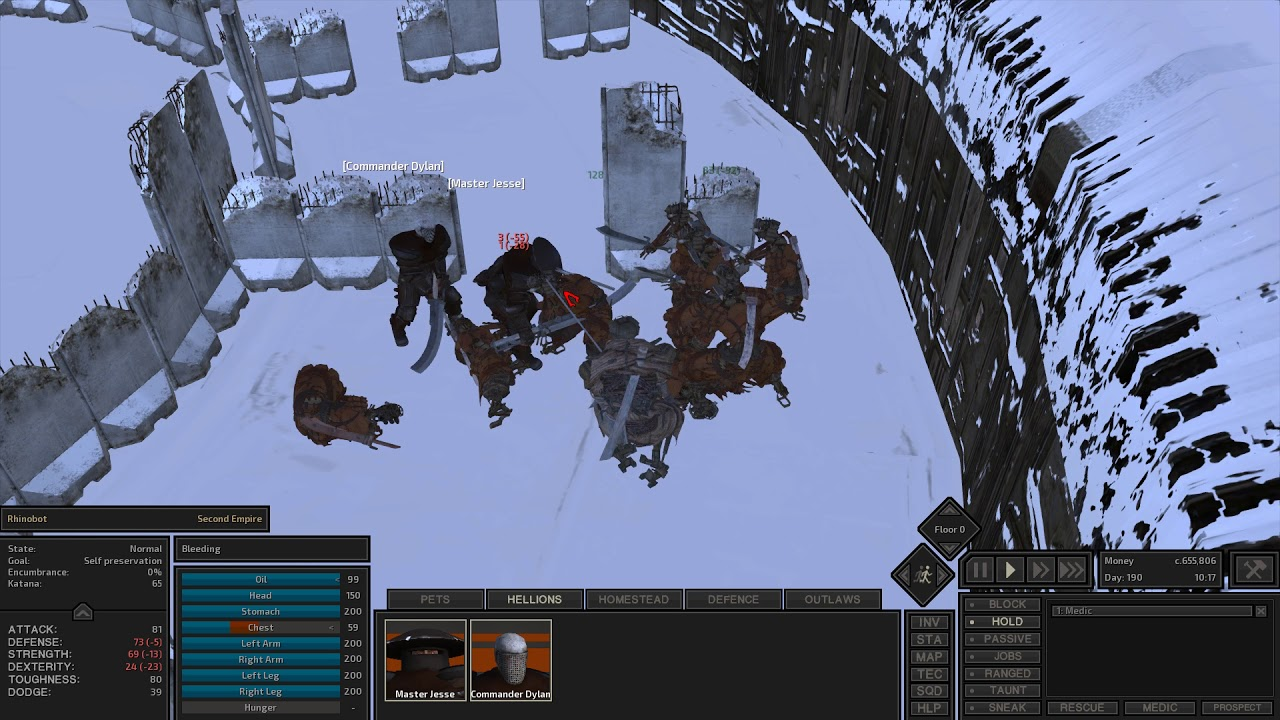 Kenshi - (Boss Battle) Ashlands Rhinobot Beatdown *Loot Spoiler* by JD  Ramrage