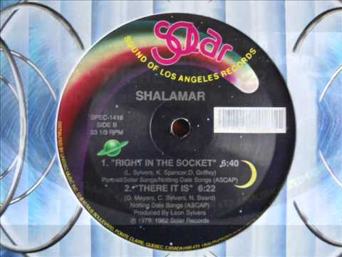 shalamar - there it is (12'' original extended version) [with Lyrics]