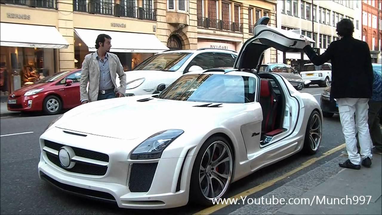 Rare Mercedes Sls Gullstream Arab Supercars In London Youtube