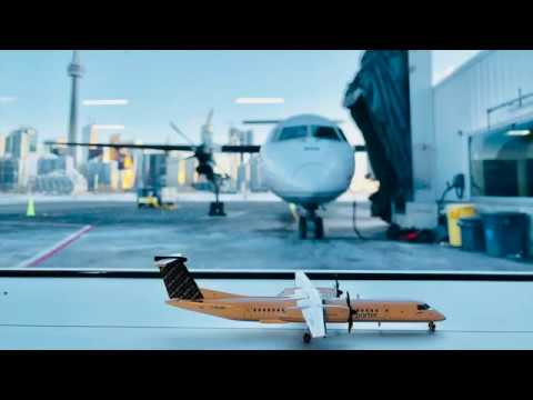 ✈ FLIGHT REPORT - Porter Q400 - Toronto Island To Boston (PD939) YTZ-BOS