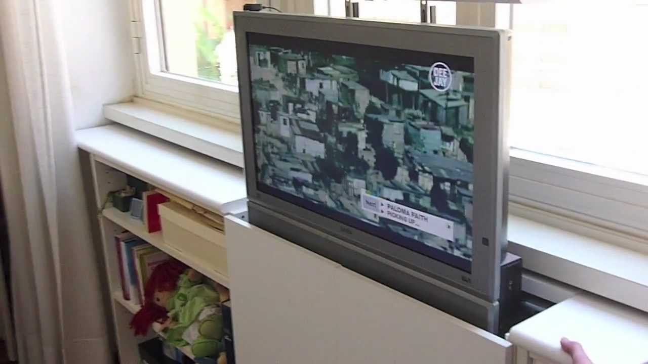 Homemade Tv Lift System