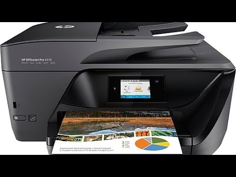Hewlett-Packard OFFICEJET 6978 Printer, Scanner, Copier, Fax