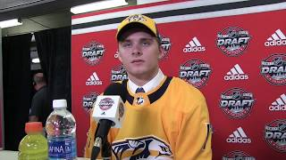 Grant Mismash - Preds 2017 2nd round pick