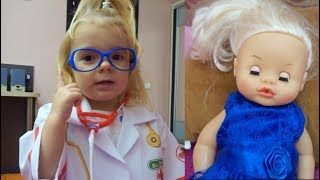 Anabella si jucarii pentru fetite  | Pretend Play With Doctor