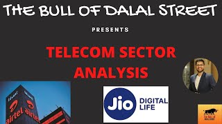 Telecom Sector Analysis | Reliance Jio | Bharti Airtel (हिन्दी)
