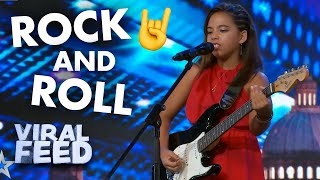INSANE ROCK AND ROLL 12 YEAR OLD | VIRAL FEED
