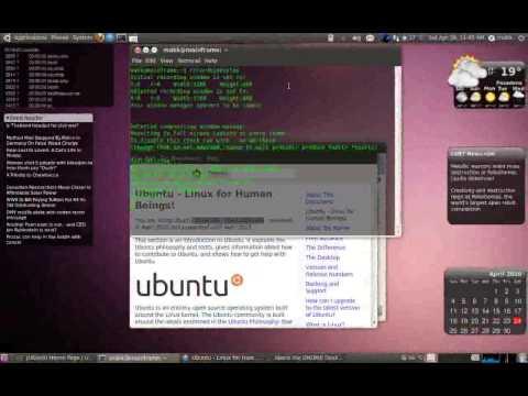 Ubuntu 10.04 new features and eyecandy