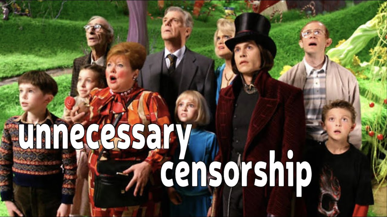 Charlie and the Chocolate Factory Unnecessary Censorship