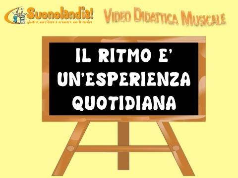 IL RITMO (1) - Video Didattica Musicale