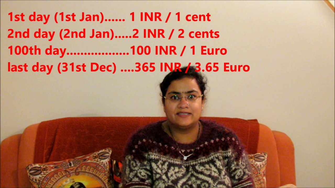 Happy New Year Save Money Challenge By Indian Soul English
