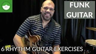 6 Funk Rhythm Guitar Exercises with Flavio Silva