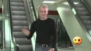 Pulling Girls Skirt On Escalator - Real Naked Girls Prank.mp4