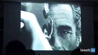 """Redazionale di presentazione del corto  """"Elegia del Pò di Antonioni"""""""