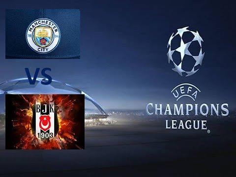 Manchester City - Beşiktaş PES 2018 Türkçe spiker