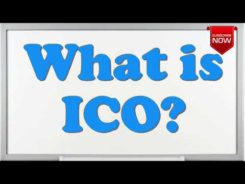 What is the full form of ICO?