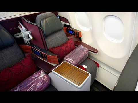 Qatar Airways Business Class  - Airbus A330 - Doha (DOH) to Istanbul (SAW)