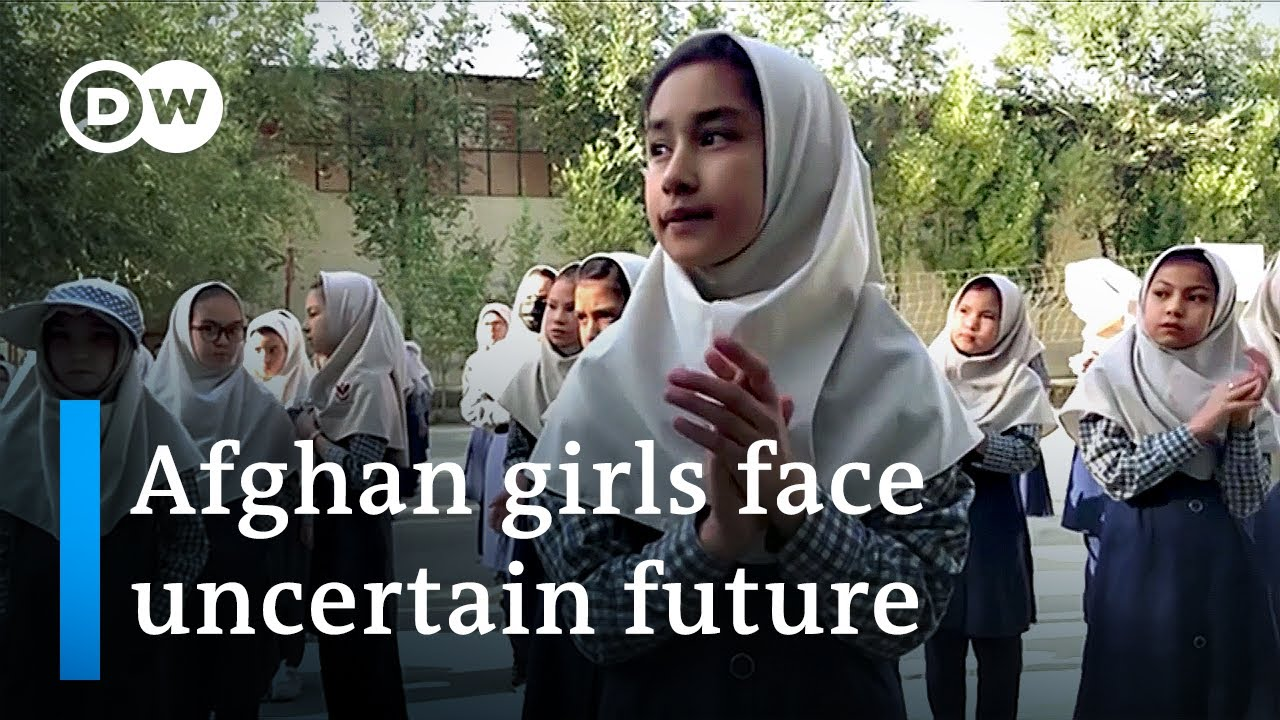 Taliban ban girls from secondary schools close Womens Ministry  DW News