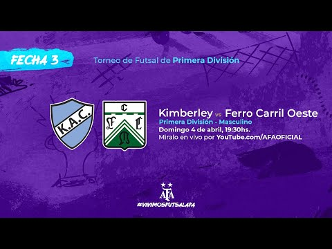 Kimberley AC vs Ferro Carril Oeste - Fecha 3 - Torneo de Futsal de Primera División 2021
