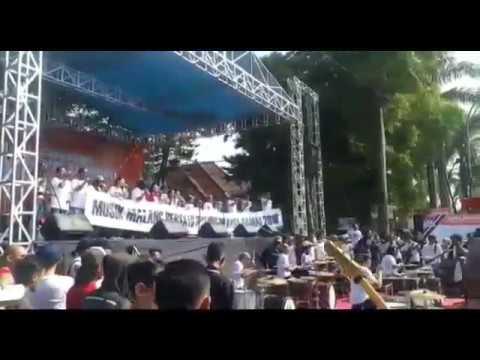 VIDEO: Musik Malang Bersatu Dukung Pilkada Damai 2018