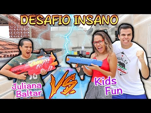 Download Youtube: JULIANA BALTAR VS KIDS FUN - DESAFIO INSANO (2.0)!