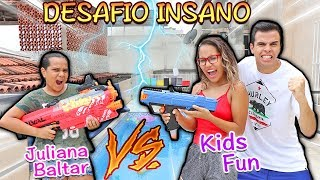 JULIANA BALTAR VS KIDS FUN - DESAFIO INSANO (2.0)!