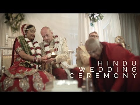 Maya & Oliver: Beautiful Stages Of A Hindu Wedding Ceremony