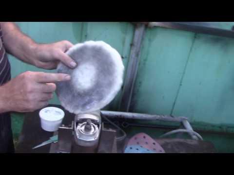 Полировка ножа до зеркального блеска в домашних условиях