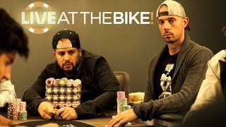 Matt Berkey & Ryan Fee Clash In Two $50,000+ Pots ♠ Live at the Bike!