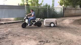 Прицеп для скутера