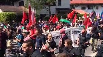 Groß-Demo gegen G7 in Garmisch-Partenkirchen am Samstag
