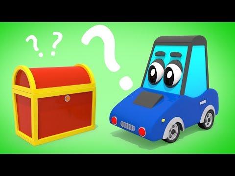 Видео: Мультик про Машинку и Пиратские Сундуки | Мультфильм для детей