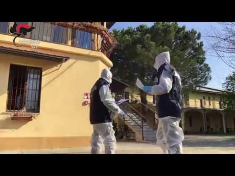 L'impegno a tutto campo dei Carabinieri dei NAS per fronteggiare l'emergenza coronavirus